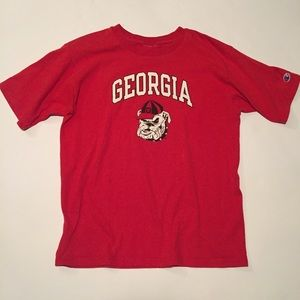 Champion Shirts - Vintage Champion Brand Georgia BullDogs T-Shirt